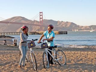 California Sunset San Francisco Bike Tour