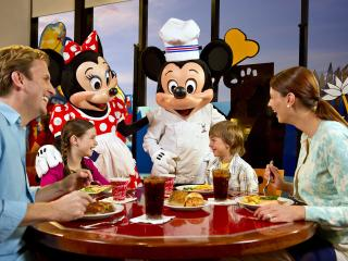 Chef Mickey's Character Dinner with Luxury Transfers