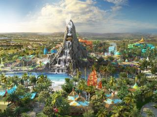 Disney & Universal Combo Ticket including Universal's Volcano Bay™