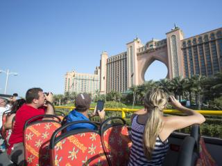 Dubai City Sightseeing Hop-On Hop-Off Double Decker Bus Tour