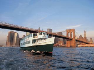 New York Landmarks Semi-Circle Cruise
