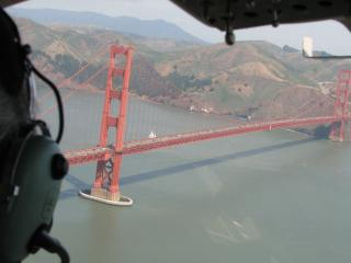 San Francisco Helicopter Tour with Sunset Dinner Cruise