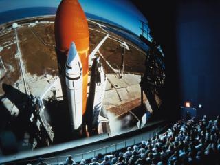 Charm Faithful K.s.c Space Shuttle Fla