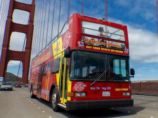 All Loops Hop-on Hop-Off Double Decker Bus Tour of San Francisco