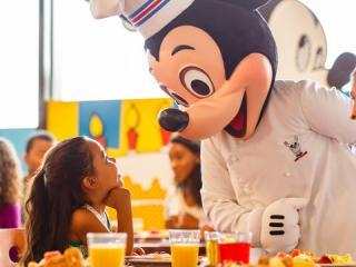 Disney VIP Character Breakfast with Luxury Transportation