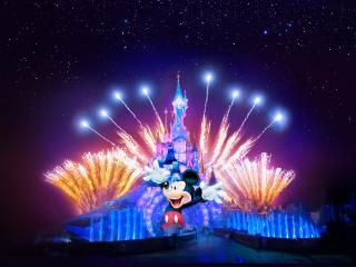 Disneyland Paris 1 day/2 Parks Hopper Ticket - Adults at Kids Prices!