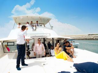Dubai Marina Luxury Yacht Share Afternoon Cruise with BBQ