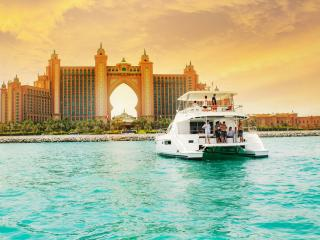 Dubai Marina Luxury Yacht Share Sunset Cruise with BBQ