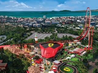 Ferrari Land One Day Ticket