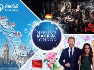 Merlin's Magical London - 3 Attractions in 1