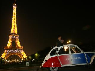 Paris at Night by 2CV