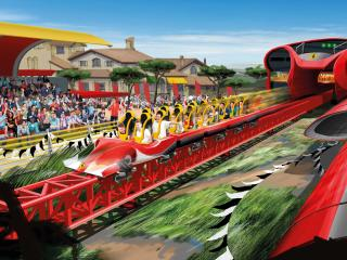 PortAventura & Ferrari Land 2-Day/2 Parks Ticket