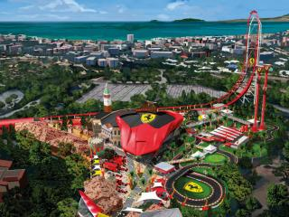 PortAventura Park & Ferrari Land 1-Day/2 Parks Ticket
