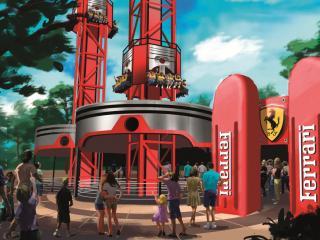 PortAventura Park, Ferrari Land & PortAventura Caribe Aquatic