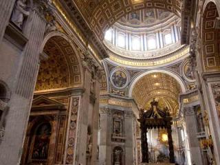 St. Peter's Basilica from Top to Bottom with Dome Climb & Crypt