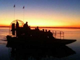Wild Florida Airboat Night Ride with Gator Park Admission