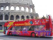 Rome Double Decker Bus Tour and Colosseum Entry