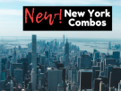 4 New and Exclusive New York Combo Tickets