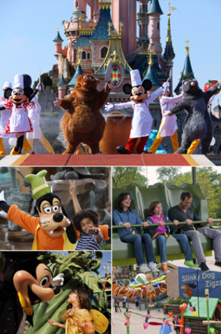 Our cheap Disneyland Paris tickets give you admission to both of the Disney theme parks - Disneyland Park & Walt Disney Studios Park Disneyland Paris Tickets from £41 - AttractionTix We use cookies to give you the best possible experience on our website.