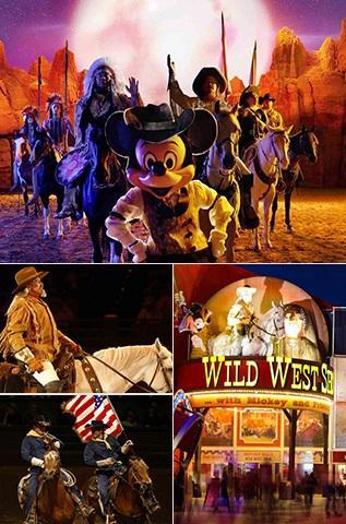 Buffalo Bill S Wild West Show At Disneyland Paris Tickets