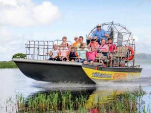 30 Minute Airboat Ride with Gator Park Admission