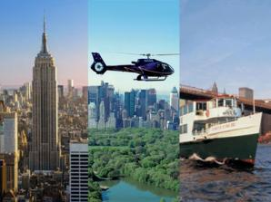 New York by Land, Air & Sea