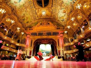The Blackpool Tower Ballroom Afternoon Tea for Two Experience Voucher