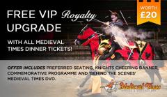 Free VIP Royalty Upgrade worth $20