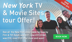 Save over 20% on New York TV & Movie Sites Tickets!