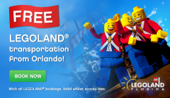 Free Transport to LEGOLAND Florida