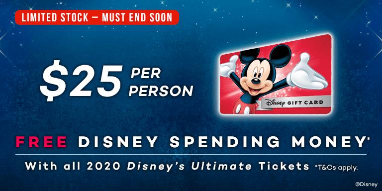 Walt Disney World Florida 2020 Early-bird Ticket Offer