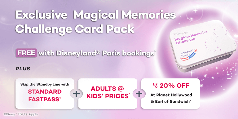 Exclusive Magical Memories Challenge Card Pack