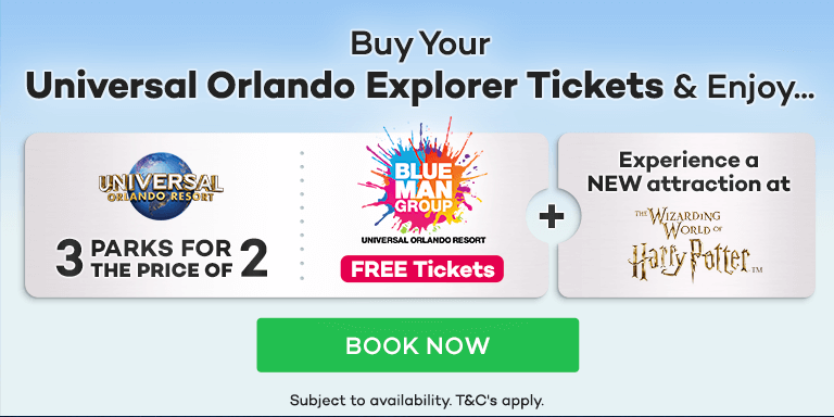 FREE Tickets for the spectacular Blue Man Group Orlando show worth £45!