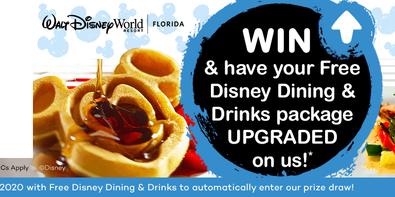 Free Disney Dining Upgrade Competition