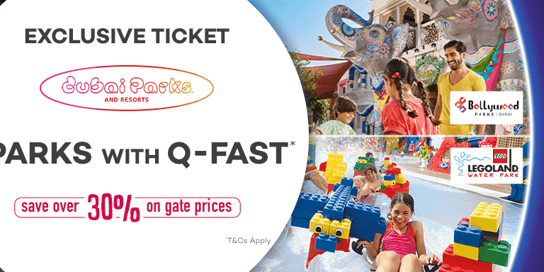 Exclusive 30% OFF Dubai Parks and Resorts Ticket