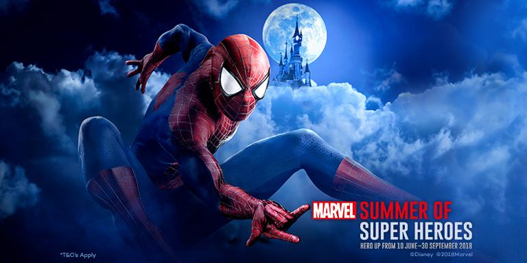 MARVEL Summer Of Super Heroes - Adults at Kids
