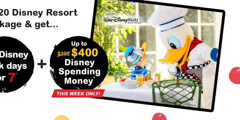 Free Disney Dining & Drinks with 2020 Walt Disney World Resort Packages