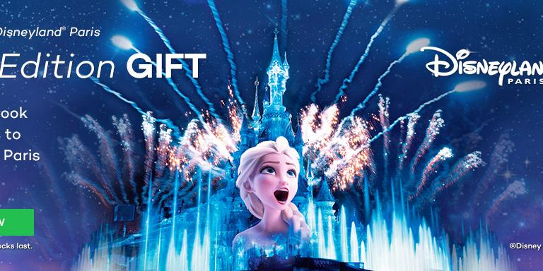 FREE Limited Edition Gift With All Disneyland Paris Tickets*