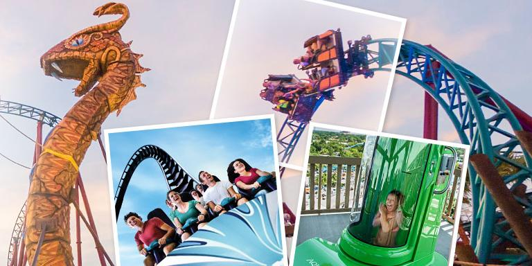 Unlimited FREE parking at SeaWorld, Aquatica and Busch Gardens