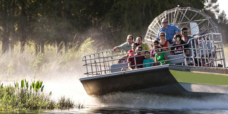Adults Pay Kids' Prices for Orlando's only Airboat Ride and Wildlife Park Experience
