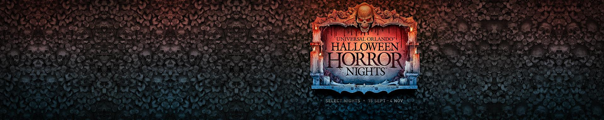 Visit Universal Orlando™ Halloween Horror Nights™ logo