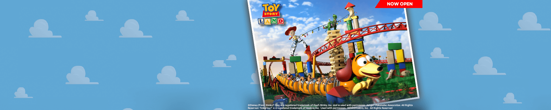 Toy Story Land - Now Open!