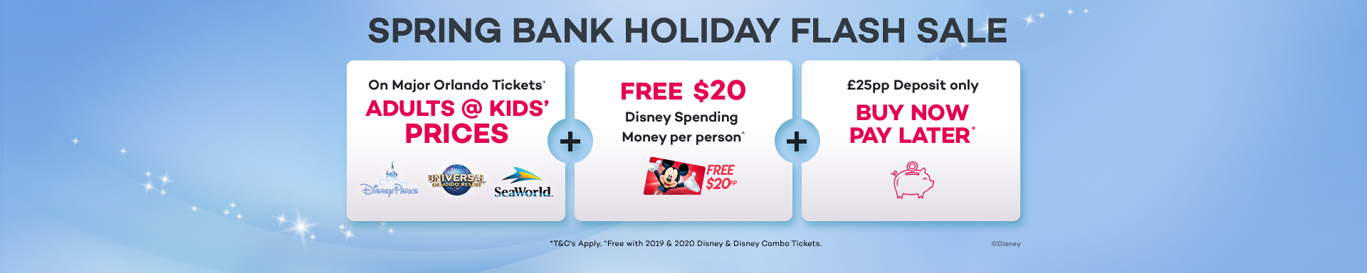 Spring Bank Holiday Flash Sale