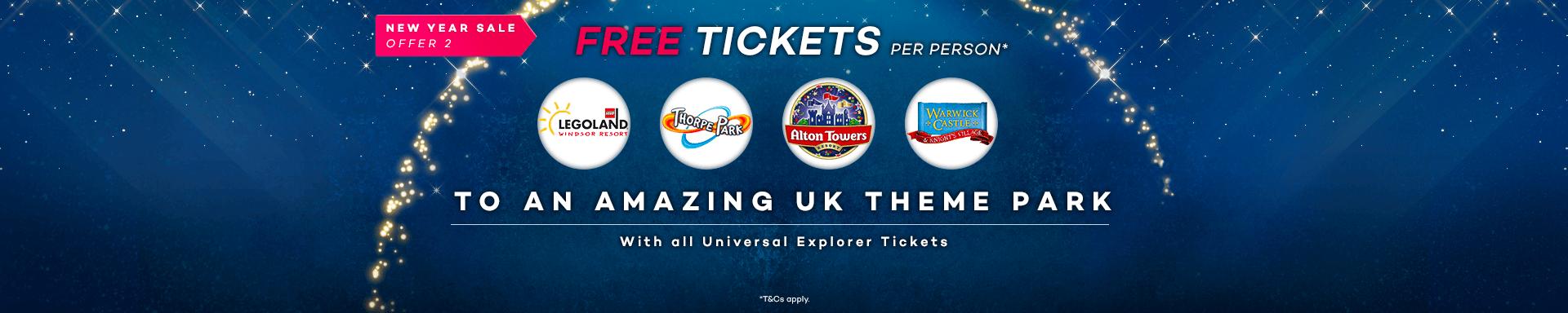 enjoy free uk theme park tickets on us