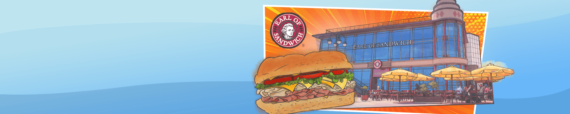 Exclusive 15% discount at Earl of Sandwich Disneyland® Paris
