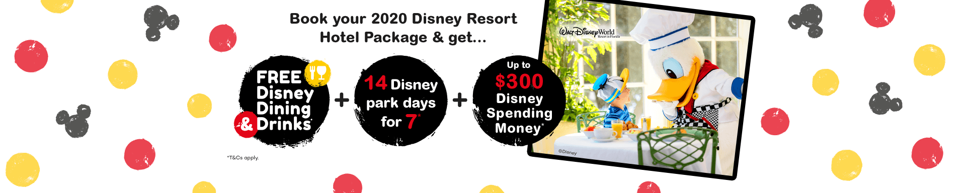 Disney Dining and Drinks (Home Page)