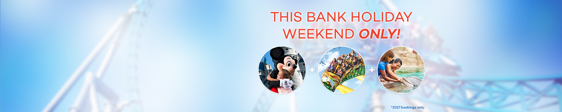 Save Up To £80pp On Our Orlando Combo Tickets This Bank Holiday!