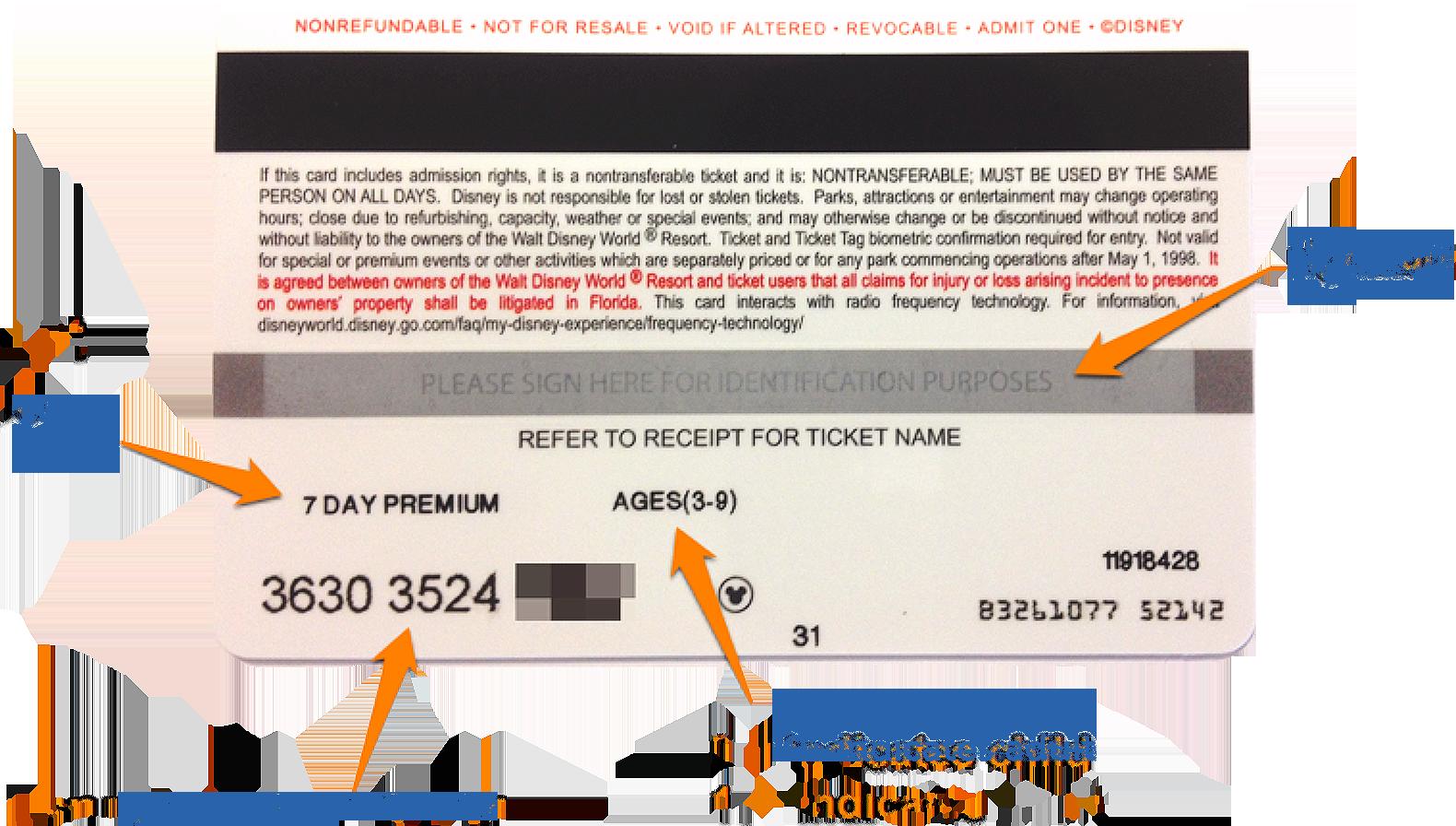 my ticket plus card